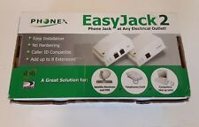 NEW (Base & Extension) Unused Phonex EASY JACK 2 Phone Jack PX211 FREE FAST SHIP