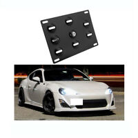 License Plate Mounting Bumper Tow Hook Bracket Holder For Subaru BRZ Toyota GT86