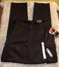 Men's 5.11 Tactical B Class Uniform Pant Cargo Back Up Belt System Brown Size 38