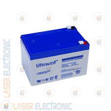 Batteria al GEL a Lunga Durata UCG12-12 Ultracell UK 12V VOLT 12A AH Ampere