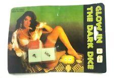 Glow In The Dark Saucy Adult Romantic Sex Love Dice Game C122