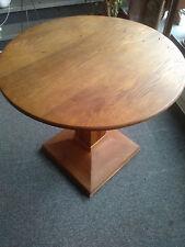 Esstisch,runder Tisch, restauriert, um 1910