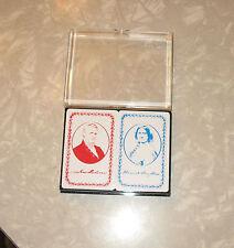 HARRIET & President JAMES BUCHANAN Double Card Deck (Bridge?)