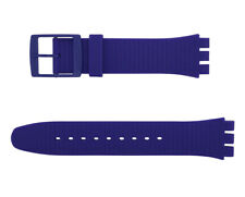 Original Swatch New Gent 19 mm Silikonarmband XX-Rated Purple ASUOV401 Neu