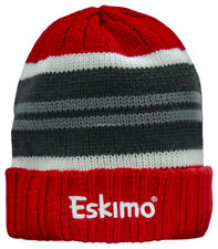 **NEW ESKIMO Ice Fishing Knit Beanie Fleece Lined Hat 303610091010