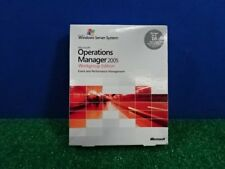 New Sealed Microsoft Operations Manager 2005 Workgroup Edition  10 cal