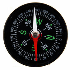 Compass Liquid New Camping  Filled Outdoor Button Pocket Hiking Survival 40mm