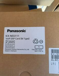 brand new panasonic kx-ns 5111 voip DSP M card for ns series