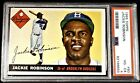 1955 Jackie Robinson PSA 4 VG-EX Topps #50 Stunning Rare Vintage Baseball Card