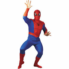 Adult Spiderman Skin Suits Spider Man Fancy Dress Costume All Sizes D2007B