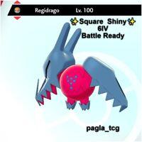 ✨ Shiny Regidrago ✨ Pokemon Sword and Shield Perfect 6IV Battle Ready