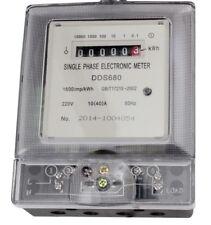 Stromzähler 230V 10A 1 Phase Wechselstromzähler Zwischenzähler Zähler