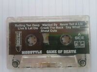 Mobstyle Game Of Death Audio Cassette NYC Gangsta Rap Tape 1992