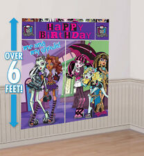 Monster High Party Supplies Scene Setter Wall Decorating Kit