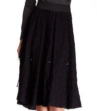 Insight Buckle Detail Skirt Black 12 NWT $126