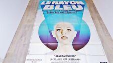 LE RAYON BLEU  blue sunshine !  affiche cinema  horreur visuel vintage 1976