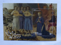 2013 St VINCENT & GRENADINES CHRISTMAS STAMP MINI SHEET