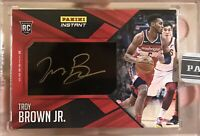 2018-19 Panini Instant Troy Brown Jr Washington Wizards RC Auto 1/1 One Of One