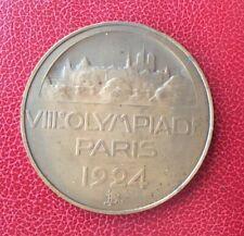France - Superbe Médaille Olympiades Paris 1924 - Olympics Medal 1924 Paris