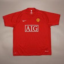 Manchester United 2007 2009 Home Football Soccer Shirt Jersey Nike Camiseta Kit