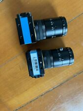 Two Imaging Source 72Auc02 Usb 2.0 monochrome industrial camera With Lens Sell