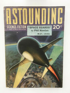 Vtg Pulp ASTOUNDING SCIENCE-FICTION May 1940 L Ron Hubbard + Clifford Simak