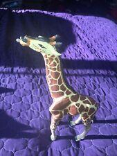 "Safari LTD Plastic Vanishing Wild Adult Reticulated Giraffe Figure 13"" 14"" 1992"