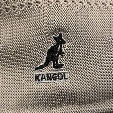 AUTHENTIC Classic Summer Kangol Tropic 504 Ventair Ivy Cap Light Grey Medium NEW
