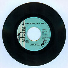 Philippines NENE/INTROVOYS Paraisong Liku-Liko OPM 45 rpm Record