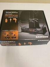 Samson Concert 288 Presentation Dual-Channel Wireless System Channel