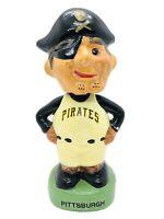 Pittsburgh Pirates TEI Mascot Pirate Head Vintage Bobble PIRATES TEI BOBBLE 1988
