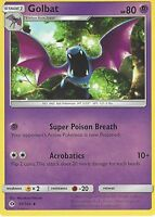 POKEMON SUN & MOON CARD: GOLBAT - 55/149
