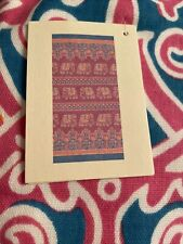 "New John Robshaw Textiles Maahi elephant pattern Two Beach Towels 36� x 70"" Pink"