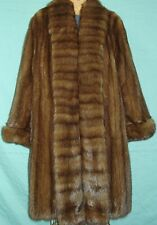 Valentino Bargazin Russian Sable Silver Tip Fur Jacket Coat Size 14-16 Mint Cond