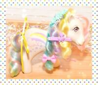 ❤️My Little Pony MLP G1 Vtg 1984 Rainbow Curl Ponies RAINCURL Rainbow Cloud❤️