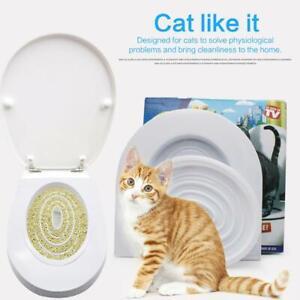Cat Toilet Anti Splash Cats Litter Box Toilet Trainer Cleaning Toilet Supplies