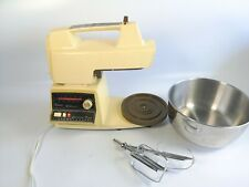 Vintage Oster Regency Kitchen Center Listed 564A 10Speed Cake Mixer Beaters Only