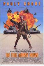 IN THE ARMY NOW Movie POSTER 27x40 B Pauly Shore Esai Morales Lori Petty David