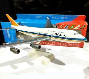 Wooster No 213 South African Airways 1/250 Boeing 747-400 Plastic model airplane