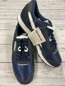 NEW Reebok Women's Nylon Sneaker Classic Team Navy Blue Size 8.5