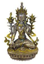 SILVER Gilt SEATED Buddha