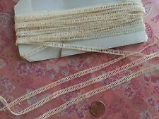 ".25"" Antique tape lace Val  thin  4 yards  braid battenberg"