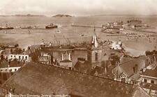 St Peter Port Guernsey Herm Jethou unused RP pc Guernsey press