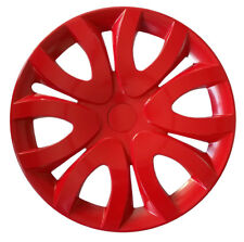 "4x16"" Wheel trims covers for TOYOTA 16"" red full set x 4"