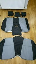 BMW E36 COMPACT 2000 # PROFFESIONAL 100% REAL LEATHER #  CAR SEAT COVERS # REARS