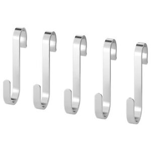 CUNGFORS  S-hook, stainless steel, 60x25x5mm 6/pk