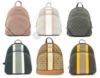 Michael Kors  Medium Abbey Mk Signature Backpack Bag