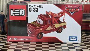 TOMICA C-33 CARS DISNEY PIXAR MATER (RRC TYPE) NEW IN BOX