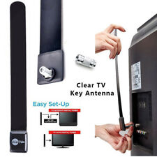 Clear TV Key HDTV FREE TV Digital Indoor Antenna Ditch Cable As Seen on TV EU
