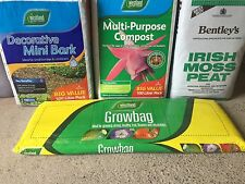 2x Westland Growbag 38L Each Ideal for flowers, fruit and vegetables 76 Litres
